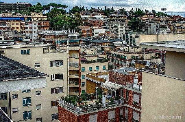 Rome Panorama Monte Mario