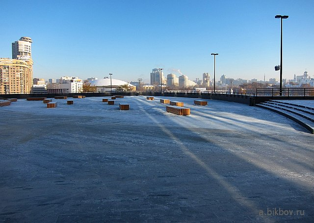 Екатеринбург: вид на город от Центра Ельцина