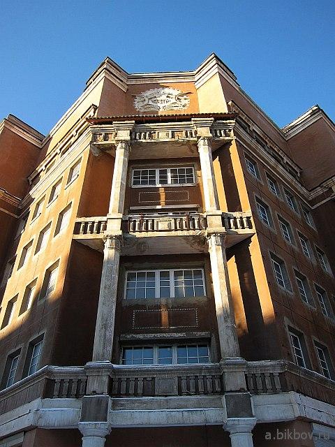 Екатеринбург: гостиница Мадрид, район Уралмаш